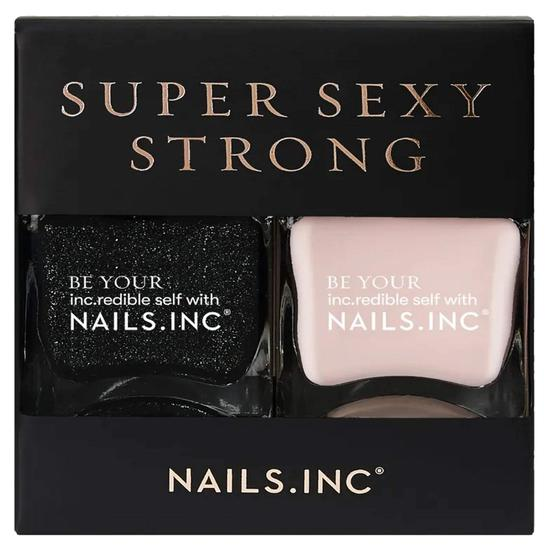 Nails Inc Super Sexy Strong Duo 14ml