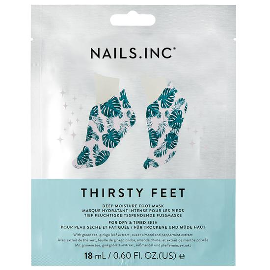 Nails Inc Thirsty Hands Super Hydrating Foot Mask