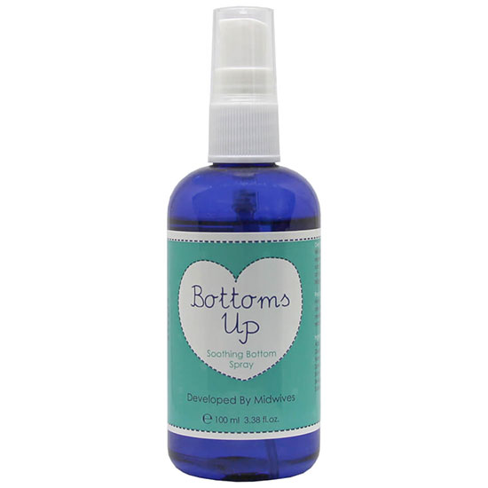 Natural Birthing Company Bottoms Up Soothing Bottom Spray 100ml