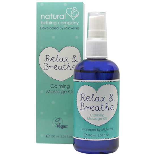 Natural Birthing Company Relax and Breathe Massage Oil