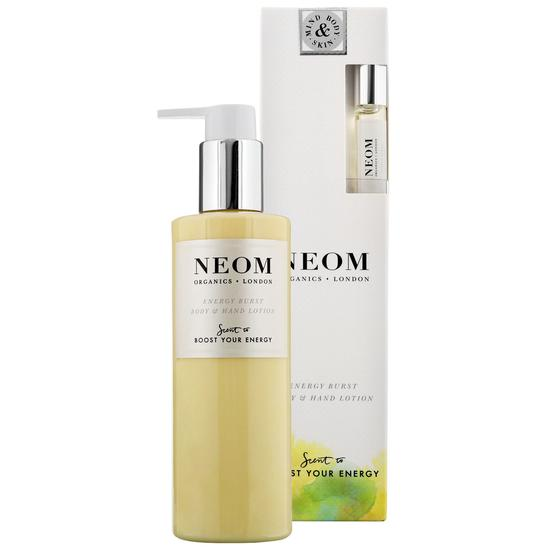 Neom Organics Energy Burst Body & Hand Lotion
