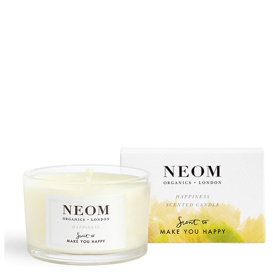 Neom Organics Happiness Scented Travel Candle