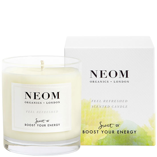 Neom Organics Scent To Boost Your Energy Feel Refreshed Scented Candle 1 Wick 185g