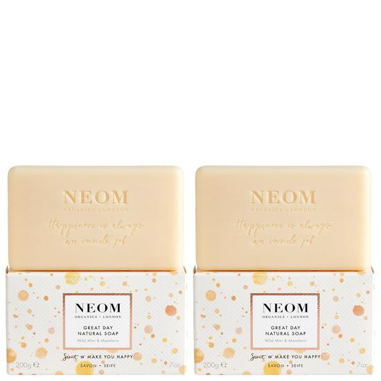 Neom Organics Scent To Make You Happy Great Day Natural Soap 200g
