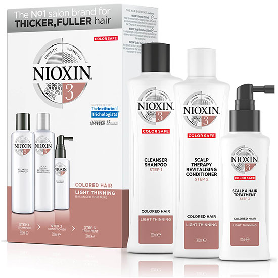Nioxin 3 Part Loyalty Kit System 3