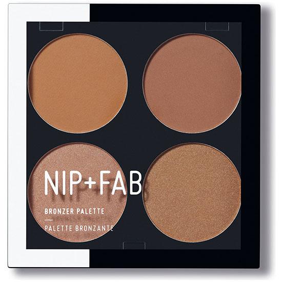 Nip Fab Makeup Bronzer Palette Bronzed