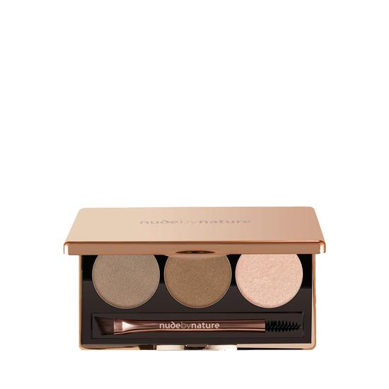 Nude by Nature Natural Definition Brow Palette 01-Blonde
