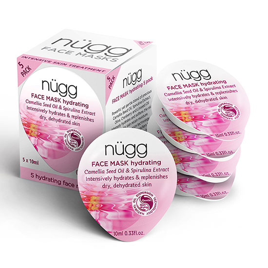nügg Deep Hydrating Face Mask Pack