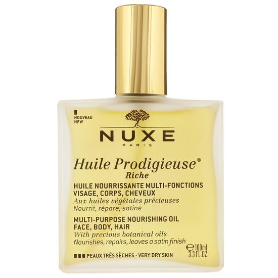 Nuxe Huile Prodigieuse Riche Multi-Purpose Nourishing Oil