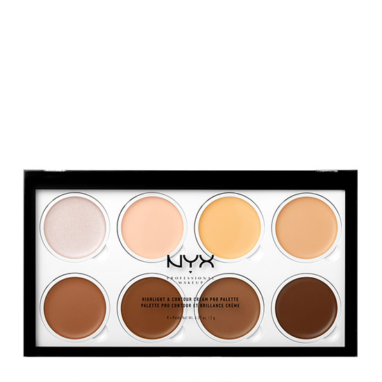 NYX Professional Makeup Highlight & Contour Cream Pro Palette 8 x 2g