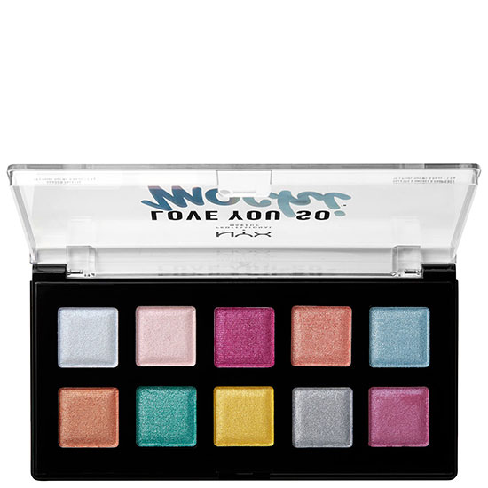 NYX Professional Makeup Love You So Mochi Eyeshadow Palette Electric Pastels