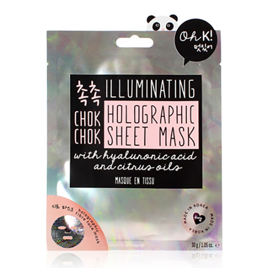 Oh k! Chok Chok Illuminating Holographic Sheet Mask