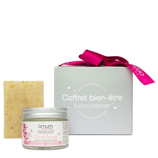Omum Mon Instant Calin Congratulation For Mums To Be Gift Set