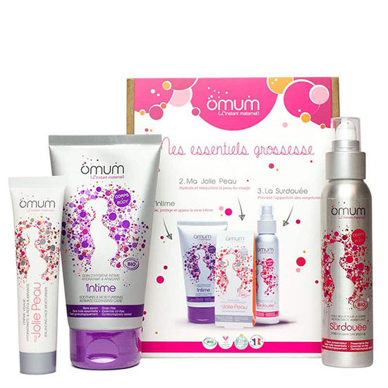 Omum My Pregnancy Essentials Gift Box