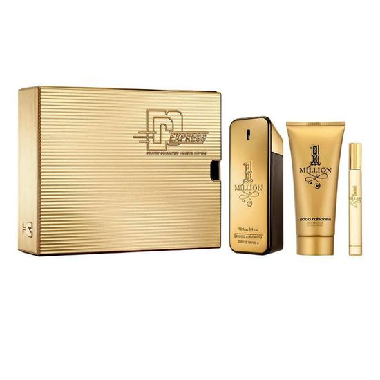 Paco Rabanne 1 Million Eau De Toilette Fragrance Gift Set 100ml