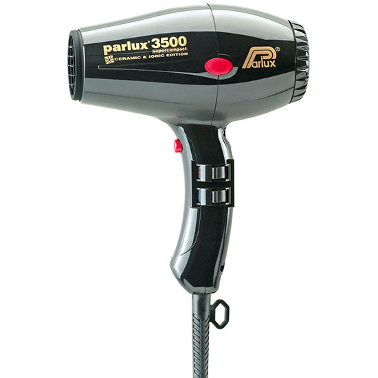 Parlux 3500 Super Compact Ionic Hair Dryer Black