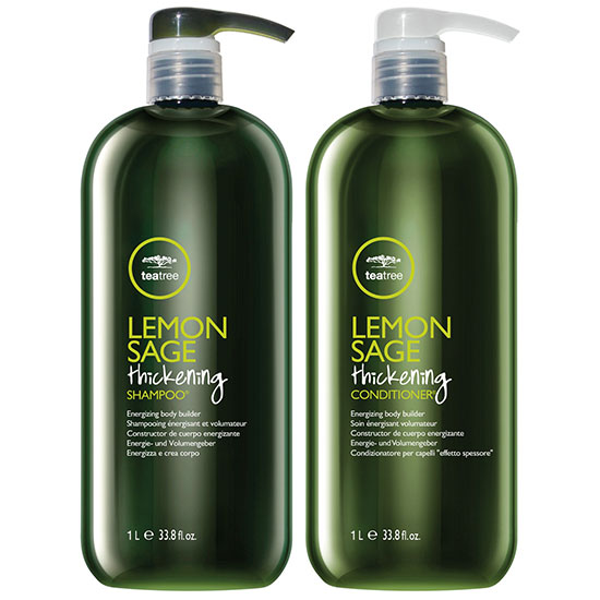 Paul Mitchell Tea Tree Lemon Sage Thickening Shampoo & Conditioner 1000ml