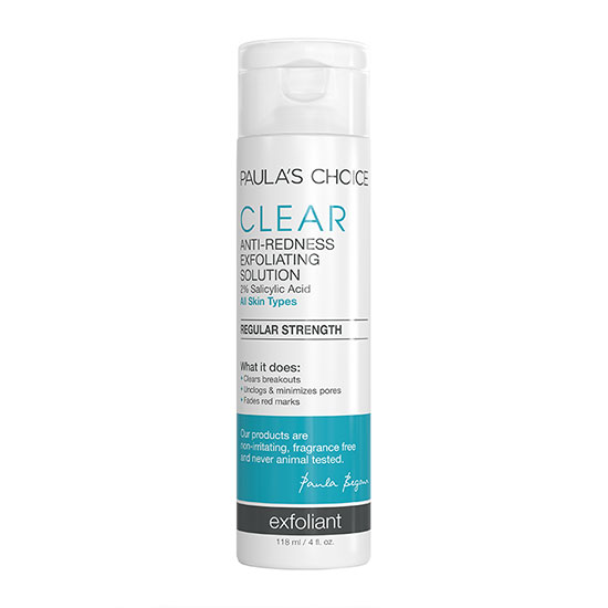 Paula's Choice Clear Regular Strength Anti-Redness Exfoliating Solution 118ml