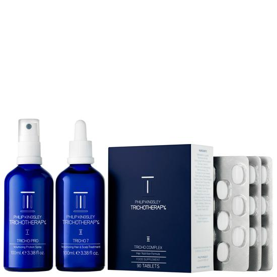 Philip Kingsley Trichotherapy Regime 3 Piece Kit