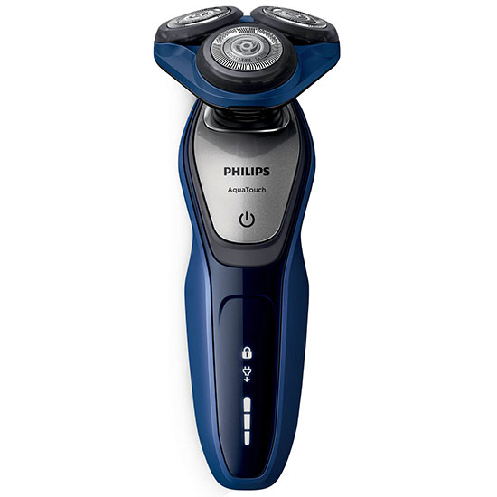 Philips Face Shavers AquaTouch Wet & Dry Electric Shaver