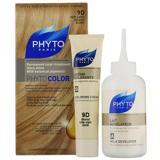 PHYTO Permanent Hair Colour Phyto Color: 4D Light Golden Chestnut