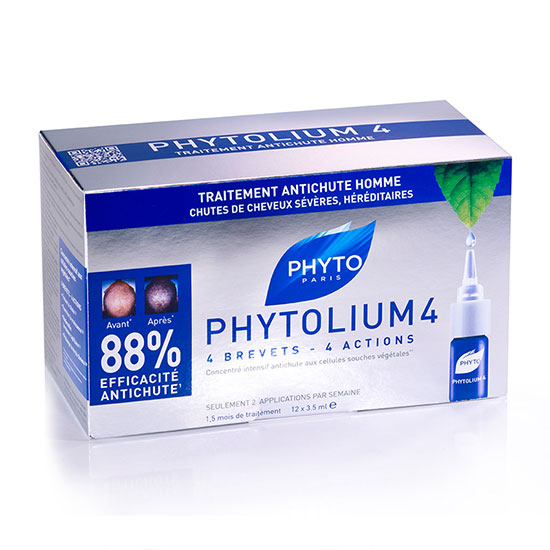 Phyto PhytoLium 4 Chronic Thinning Hair Treatment 12 x 3.5ml Vials