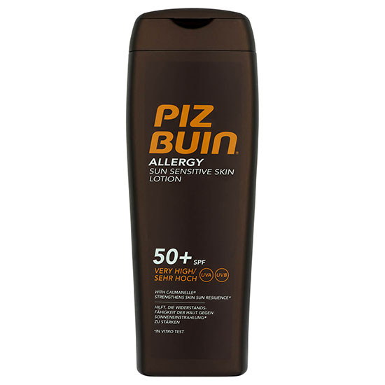 Piz Buin Allergy Sun Sensitive Skin Lotion Very High SPF50+ 200ml