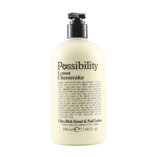 Possibility Lemon Cheesecake Hand Lotion 500ml