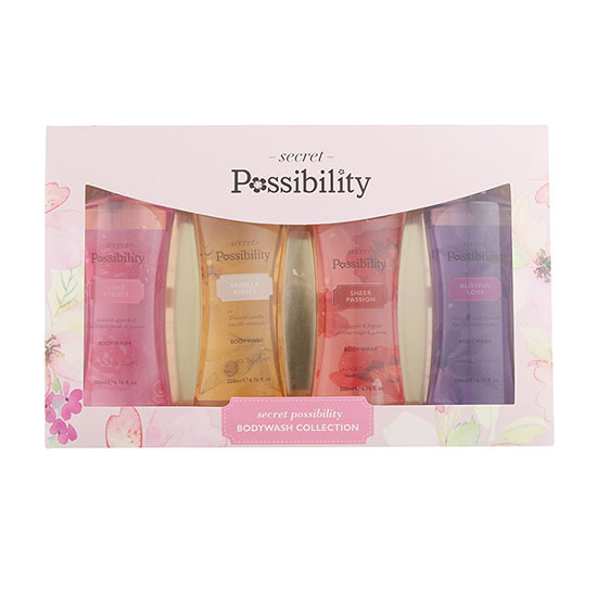 Possibility Secret Possibility Assorted Body Wash Set