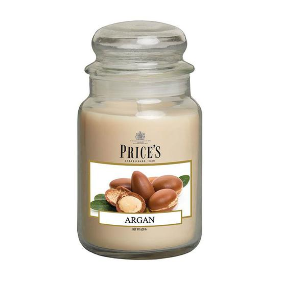 Price's Argan Large Jar Candle 1kg