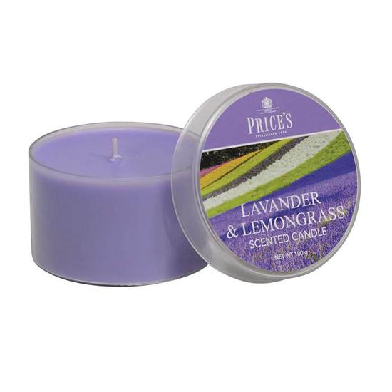 Price's Lavender & Lemongrass Tin Candle 120g