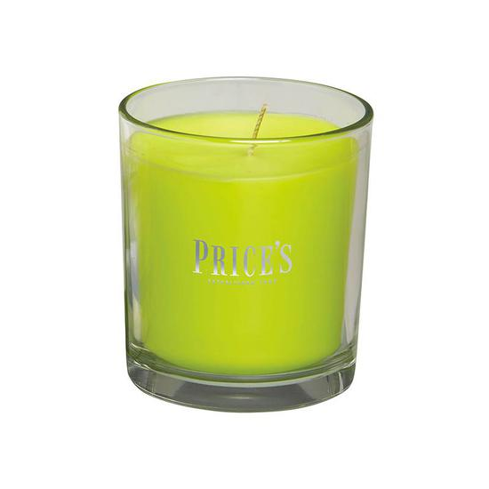 Price's Lime & Basil Boxed Jar Candle 400g
