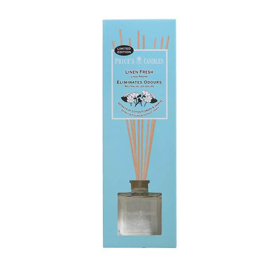 Price's Linen Fresh Reed Diffuser 100ml
