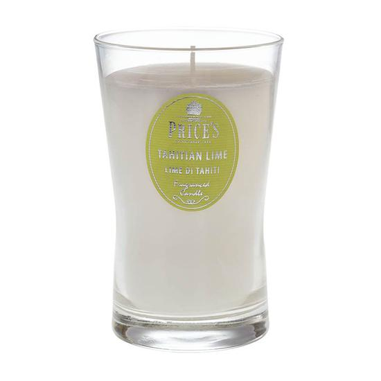 Price's Tahitian Lime Fragranced Candle