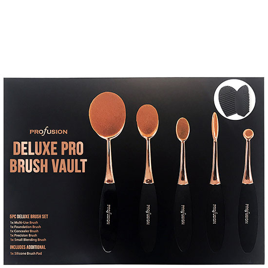 Profusion Cosmetics Tools Deluxe Pro Brush Vault