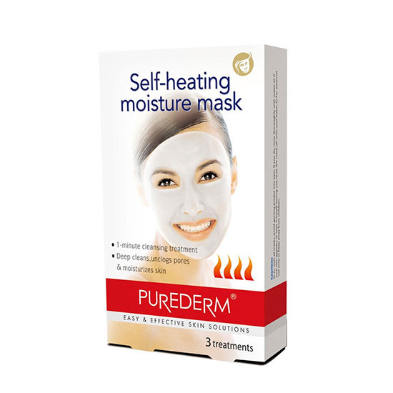 Purederm Self Heating Deep Cleansing Moisture Mask