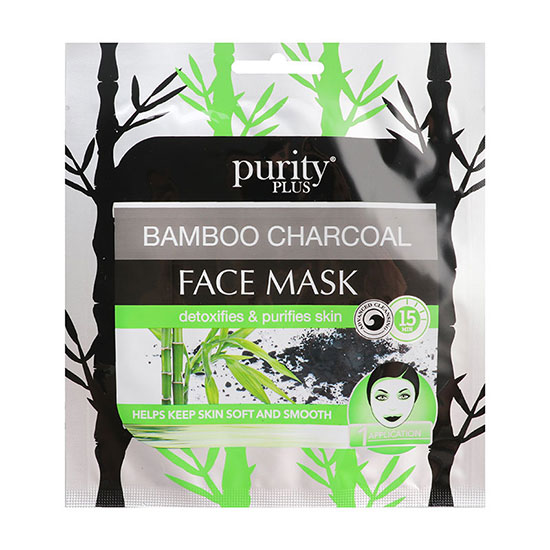 Purity Plus Bamboo Charcoal & Sea Salt Face Mask