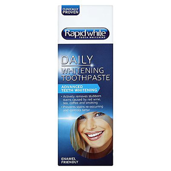 Rapid White Daily Whitening Toothpaste