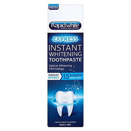Rapid White Instant Whitening Toothpaste