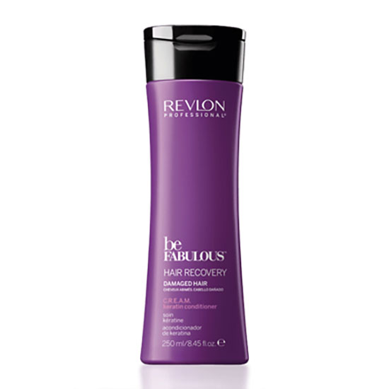 Revlon Professional Be FABULOUS Hair Recovery Damaged Hair C.R.E.A.M. Keratin Conditioner 250ml