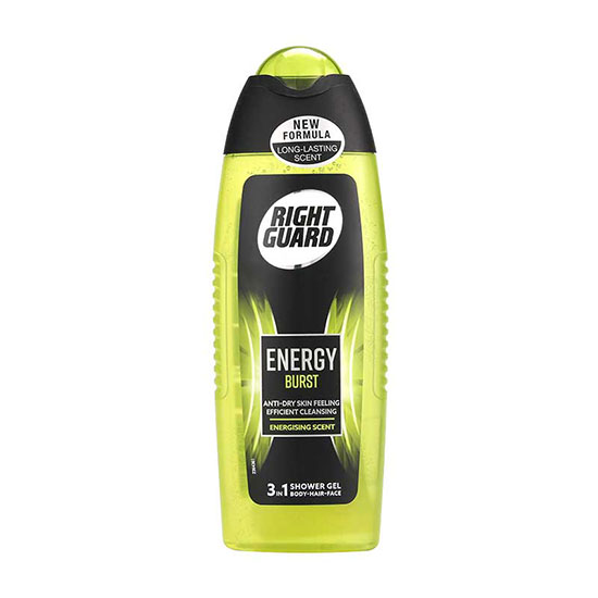 Right Guard Xtreme Body & Hair Shower Gel Energy Burst