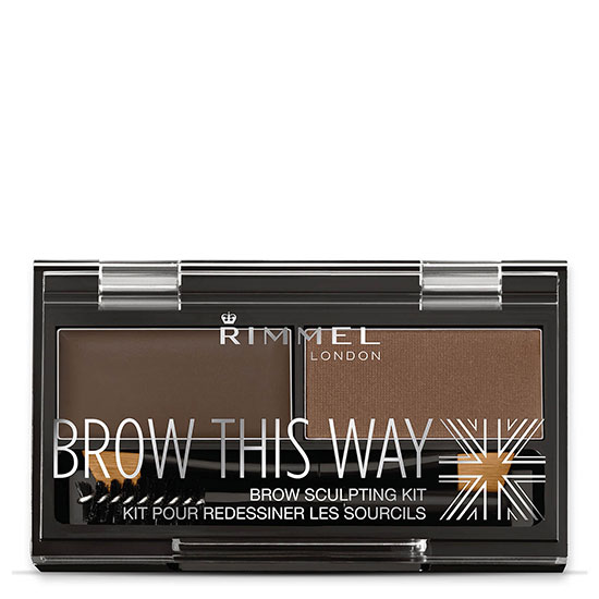 Rimmel Brow This Way Brow Kit 003 Dark Brown
