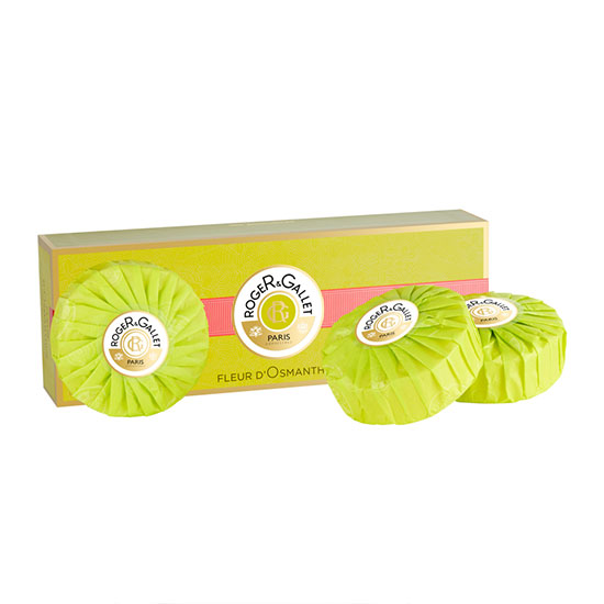 Roger & Gallet Fleur d'Osmanthus Perfumed Soap Coffret 3 x 100g