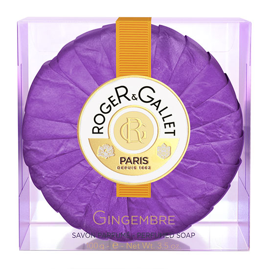 Roger & Gallet Ginger Perfumed Soap Coffret 3 x 100g