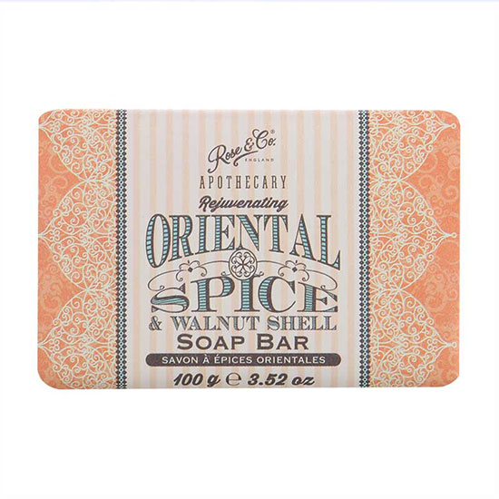 Rose & Co Apothecary Oriental Spice Soap 100g