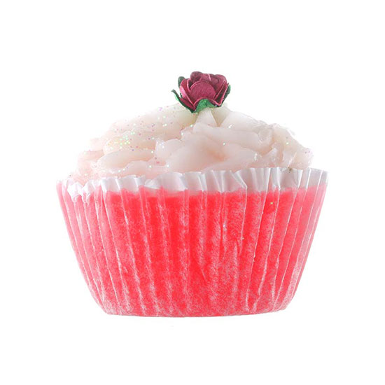 Rose & Co Patisserie De Bain Cranberries & Cream Cupcake Soa