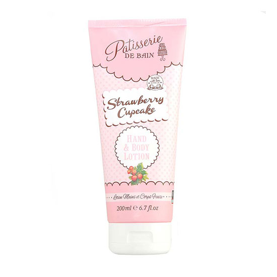 Rose & Co Patisserie De Bain Strawberry Cupcake Lotion 200ml
