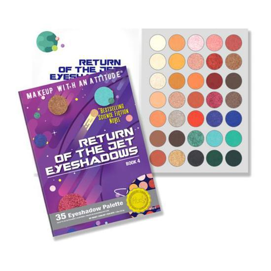 RUDE COSMETICS Return Of The Jet Eyeshadow Palette