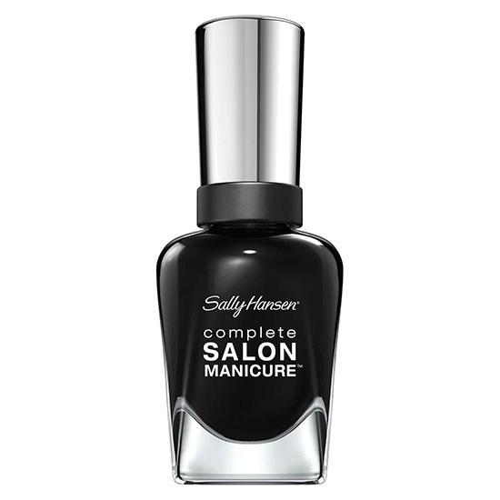Sally Hansen Complete Salon Manicure Keratin Strong Nail Polish Hooked on Onyx