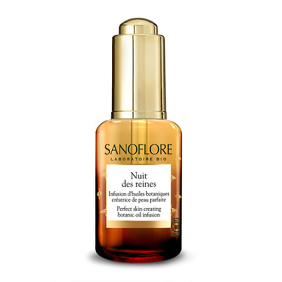 Sanoflore Certified Organic Nuit Des Reines Botanical Skin Perfecting Night Oil 30ml
